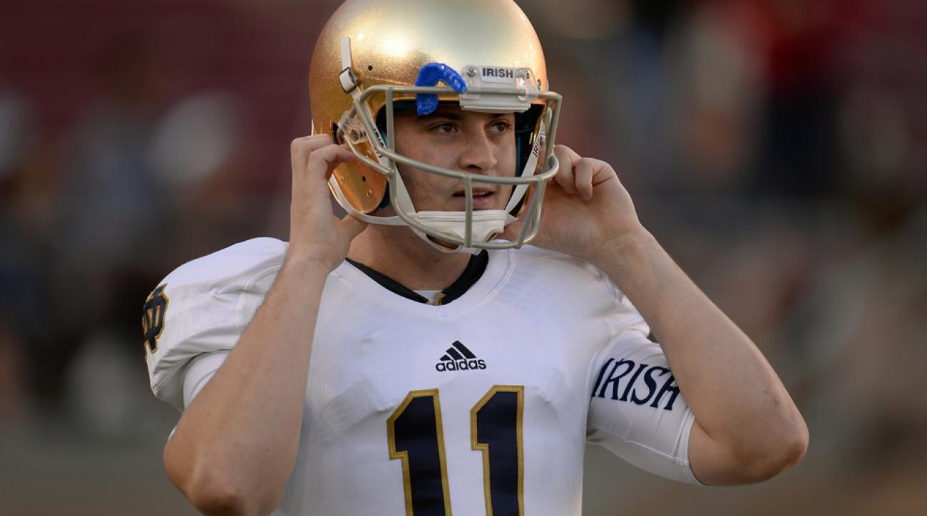 tommy rees chargers assistant notre dame