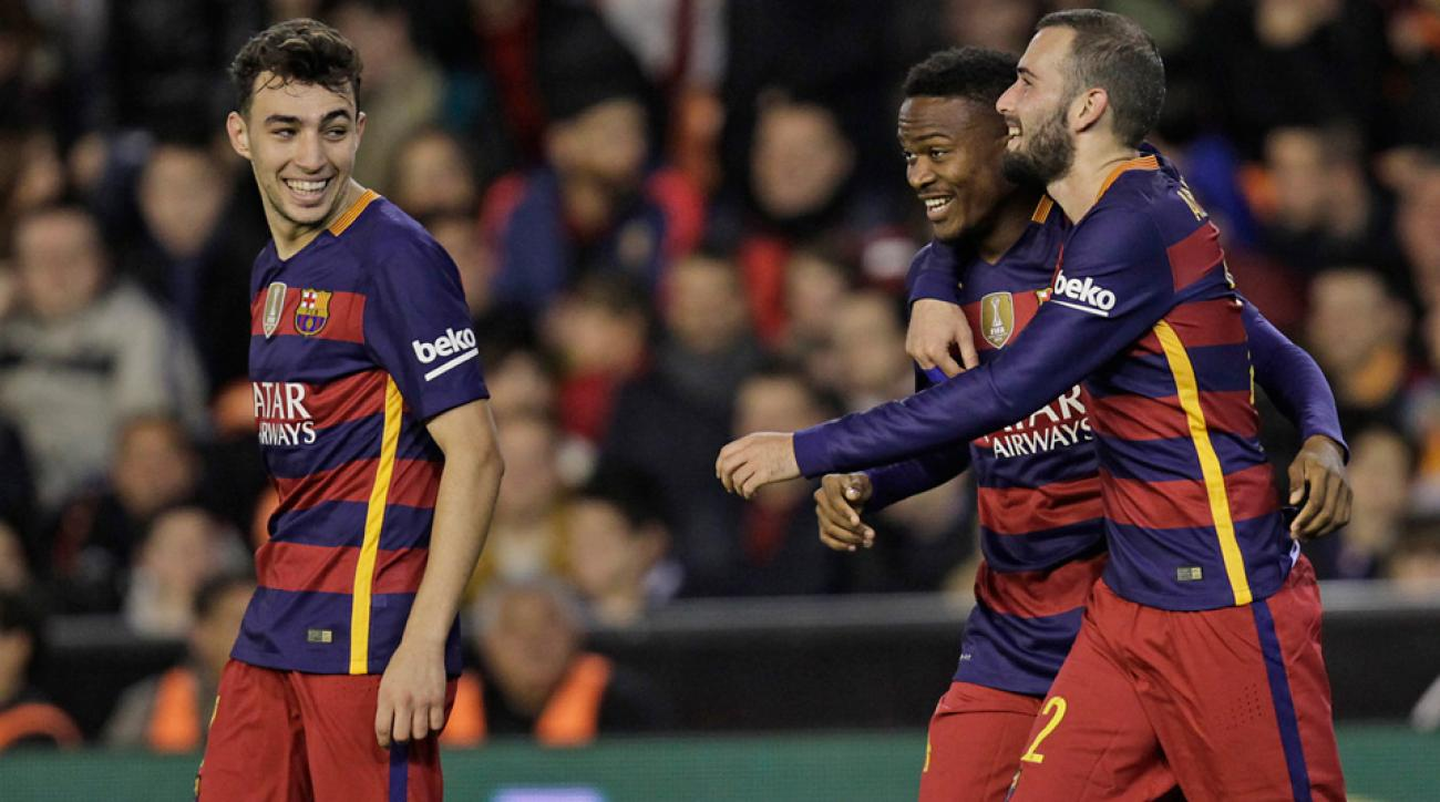 Barcelona is through to the Copa del Rey final
