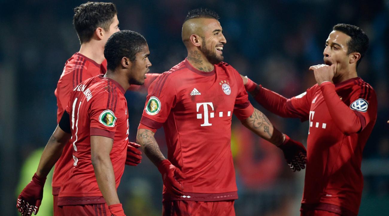Bayern Munich advances to the DFB Pokal semifinals