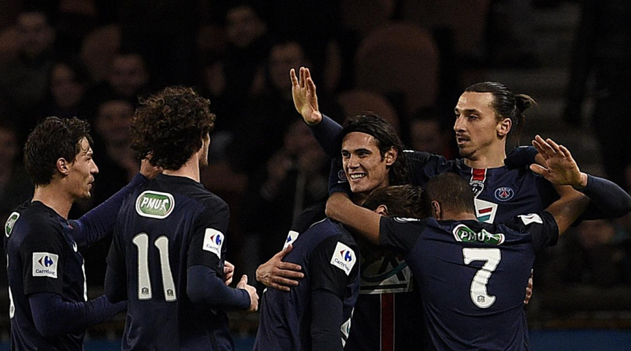 Ibrahimovic lifts psg by lyon to coupe de france quarterfinals - Coupe de france psg lyon ...