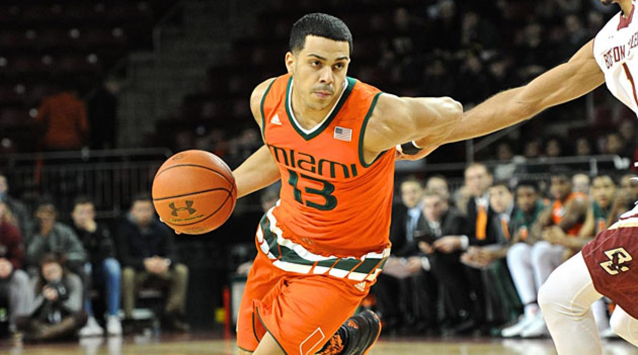 Angel Rodriguez, Miami Hurricanes