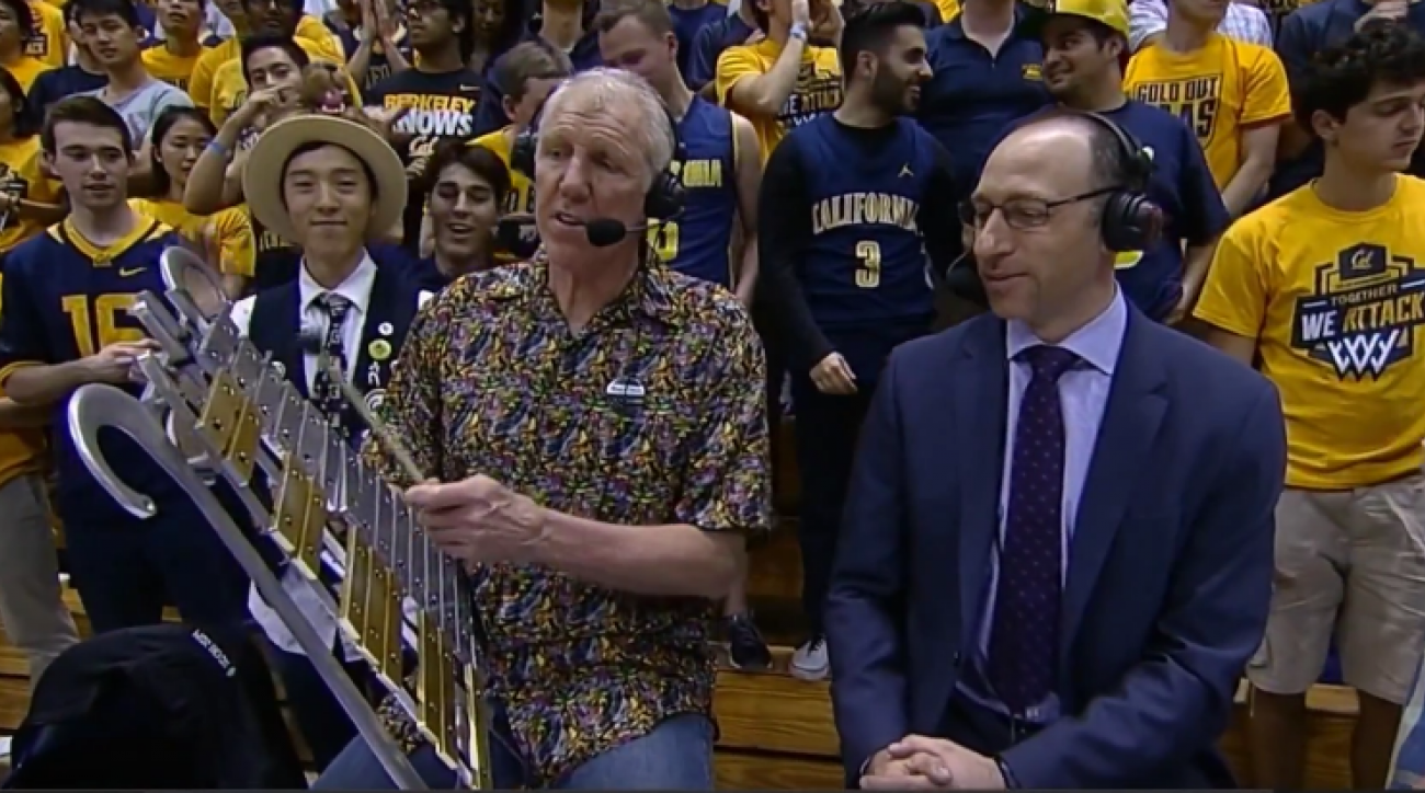 bill walton glockenspiel cal oregon video