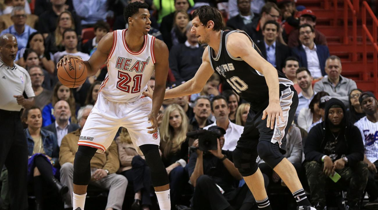 Hassan Whiteside suspended one game for elbowing Boban ...
