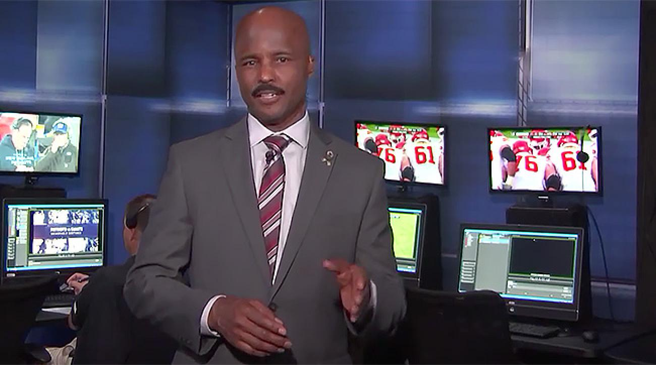 Mike Carey, CBS's NFL officiating expert