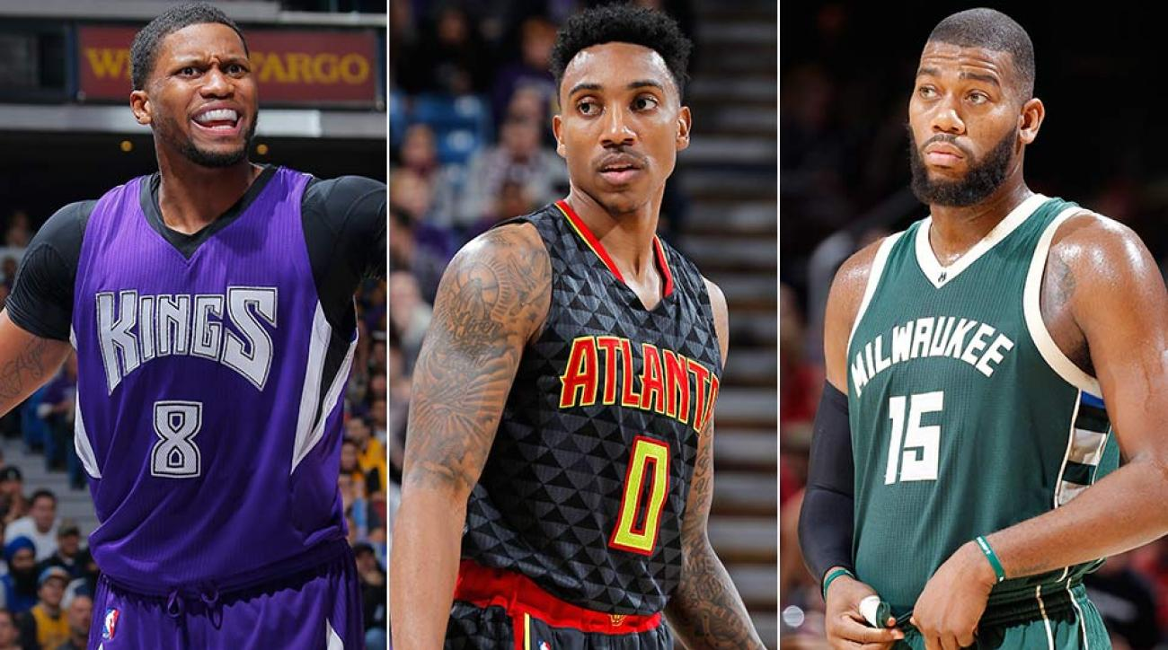 Rudy Gay; Jeff Teague; Greg Monroe