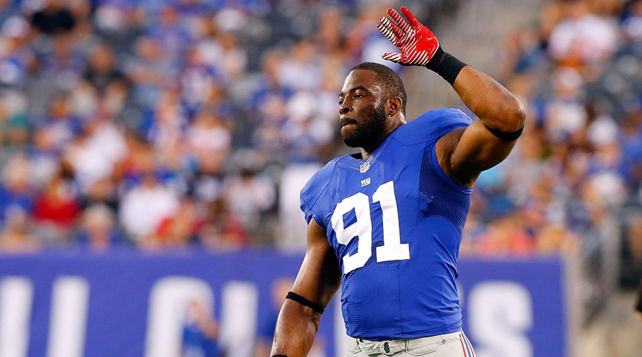 justin tuck retirement giants raiders one day contract