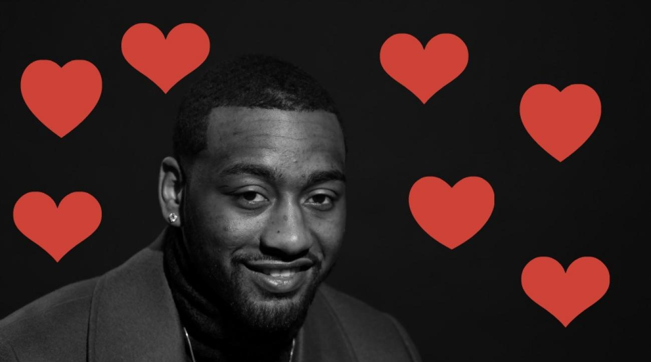 Wizards' John Wall has some sage romantic advice for alentine's Day
