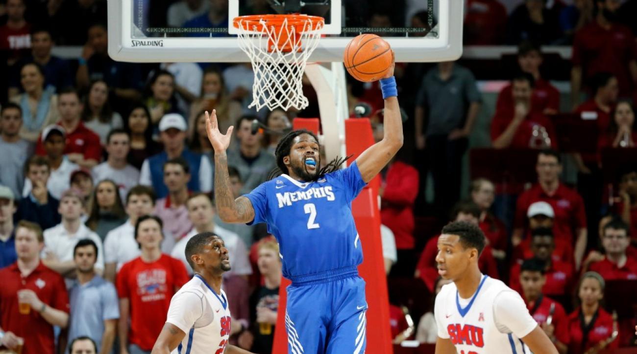 Memphis' Shaq Goodwin lands vince carter dunk during game