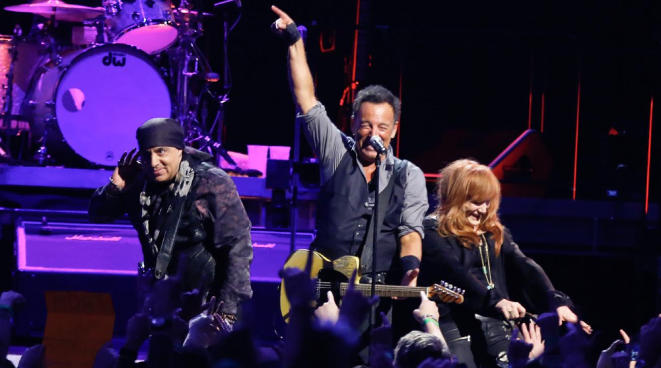 Bruce Springsteen will be playing at Madrid's Estadio Santiago Bernabeu