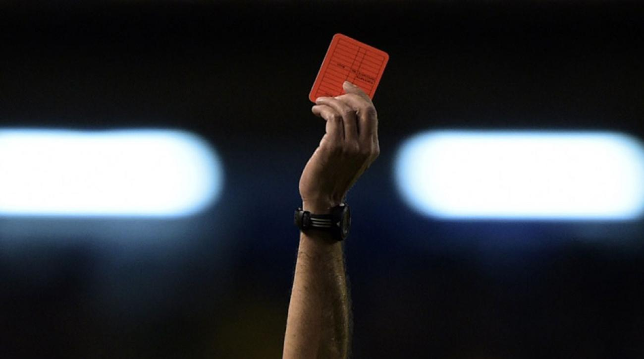 soccer referee killed shot red card