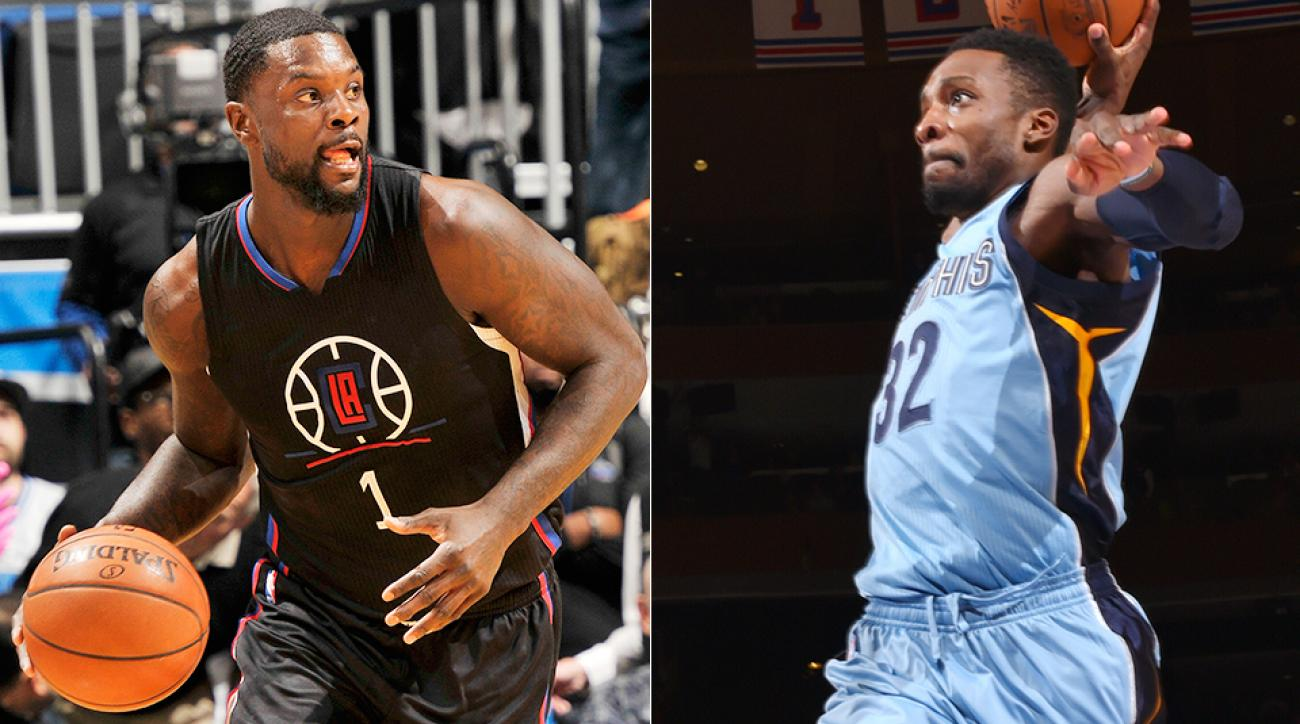 NBA trade deadline Lance Stephenson Jeff Green Clippers Grizzlies