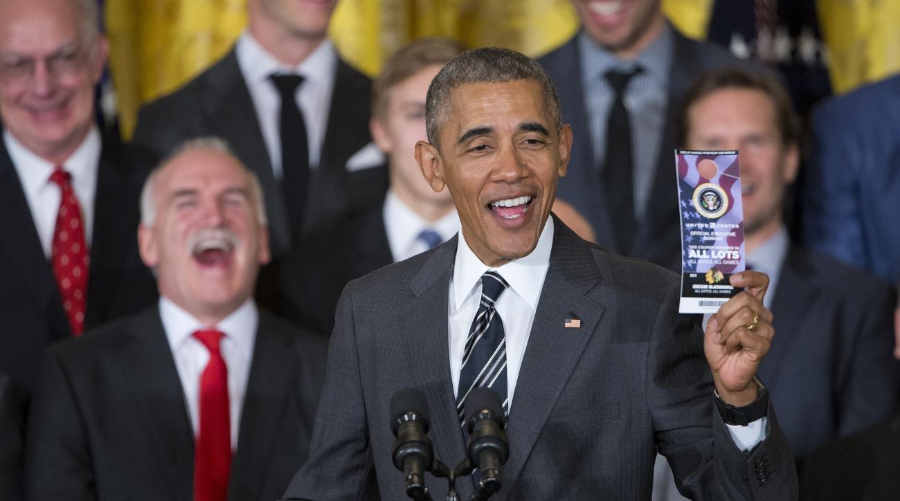 obama blackhawks white house visit