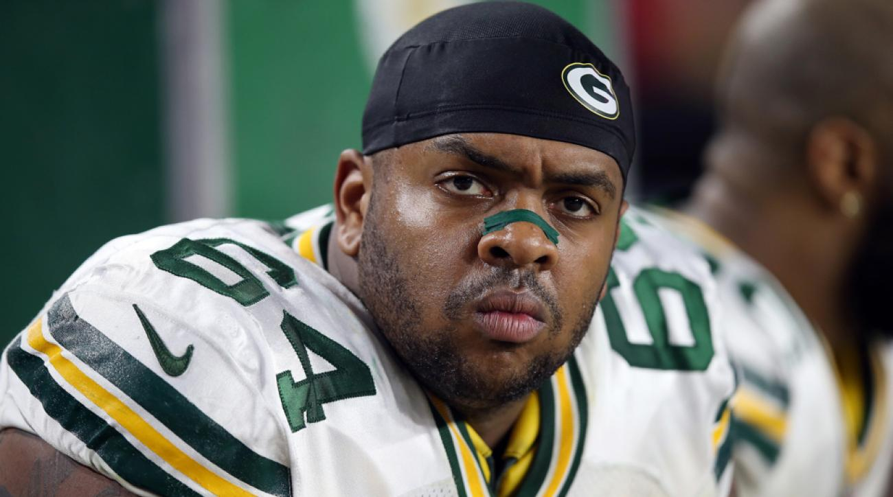 mike pennel suspended green bay packers
