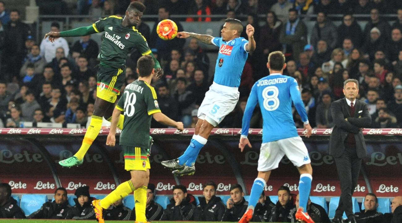Napoli, AC Milan play to a 1-1 draw in Serie A