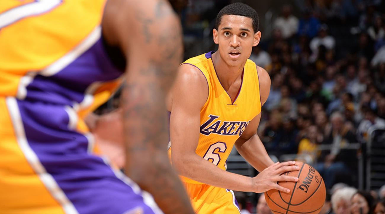 damn daniel meme lakers jordan clarkson video