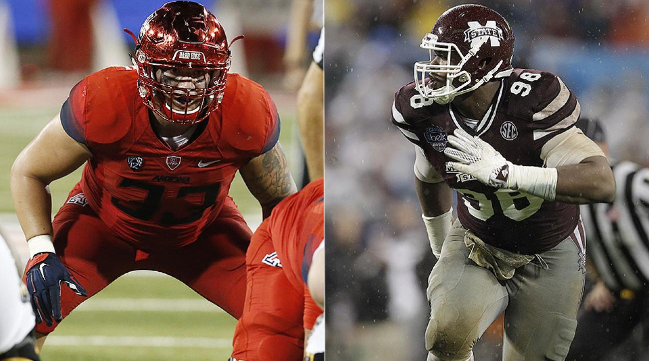 NFL draft podcast: Scooby Wright, Chris Jones discuss 2016 NFL combine