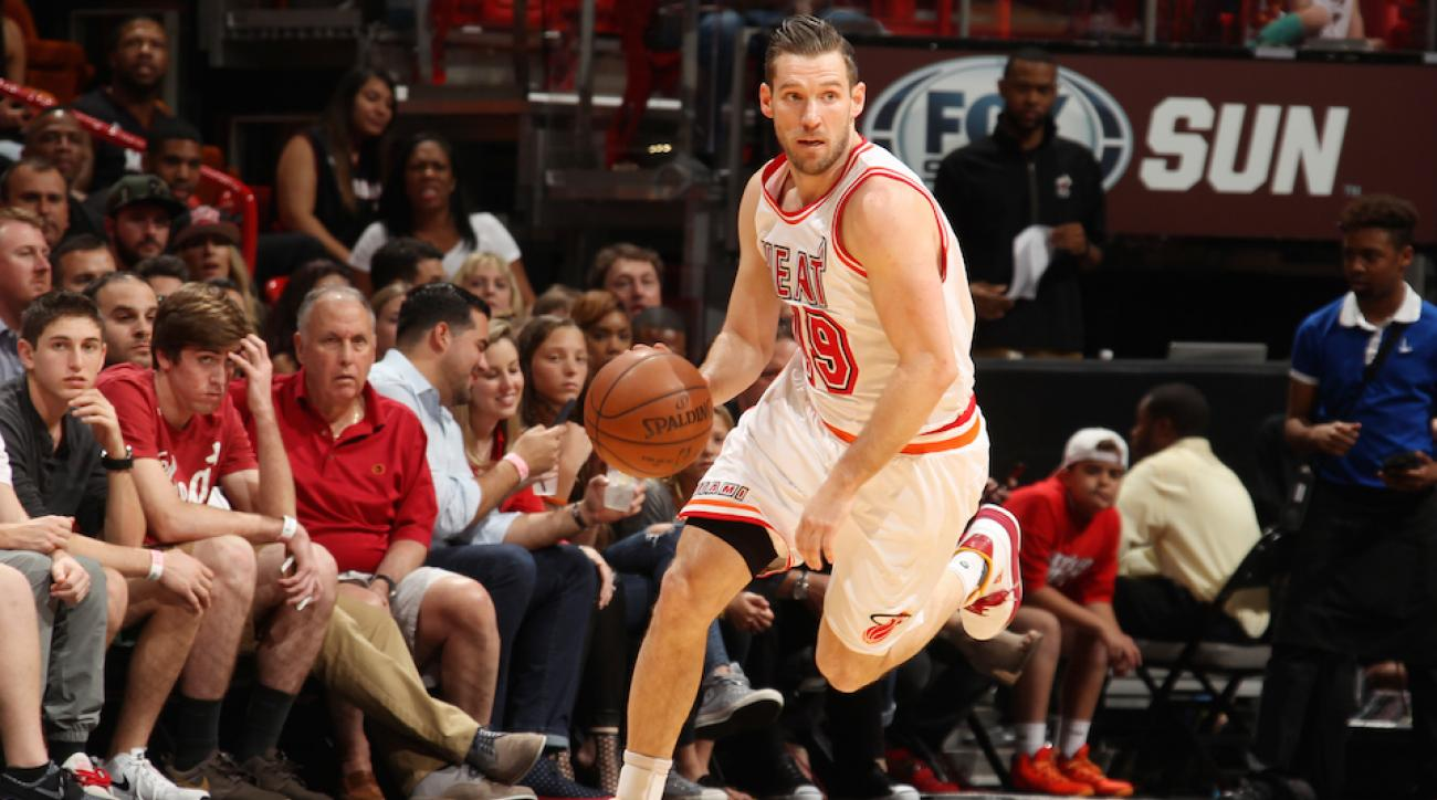 beno udrih heat out for season