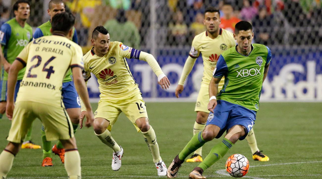 Clint Dempsey started his Seattle Sounders season with a multi-goal game vs. Club America in CONCACAF Champions League