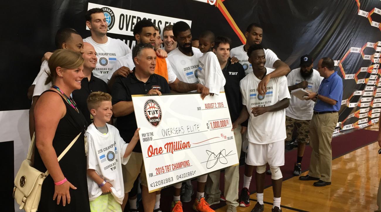 basketball tournament 2016 2 million prize
