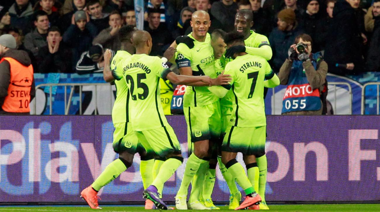 Manchester City beats Dynamo Kyiv in the Champions League