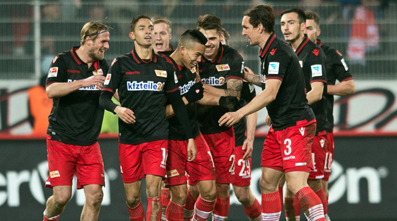 Bobby Wood scored in a third straight game for Union Berlin