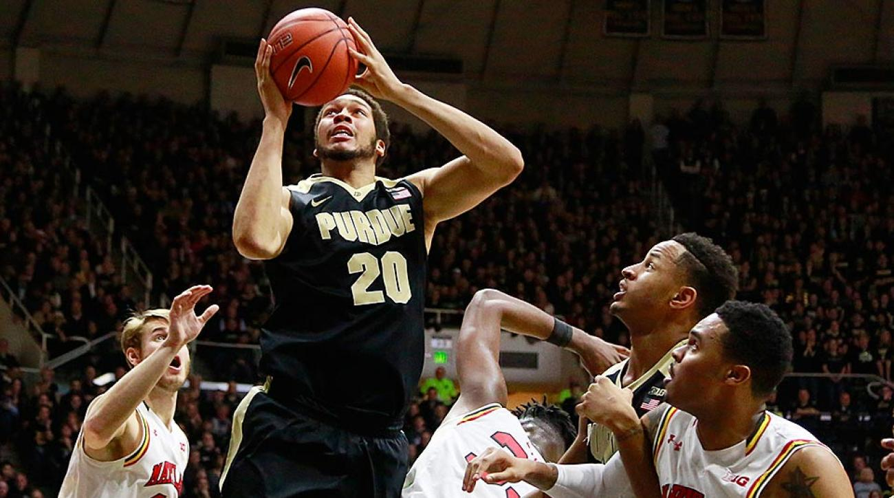 A.J. Hammons Purdue vs. Maryland