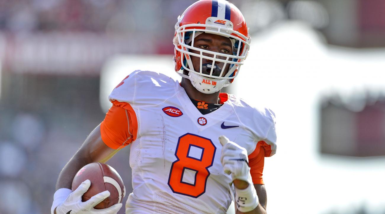 clemson tigers mike williams deon cain status