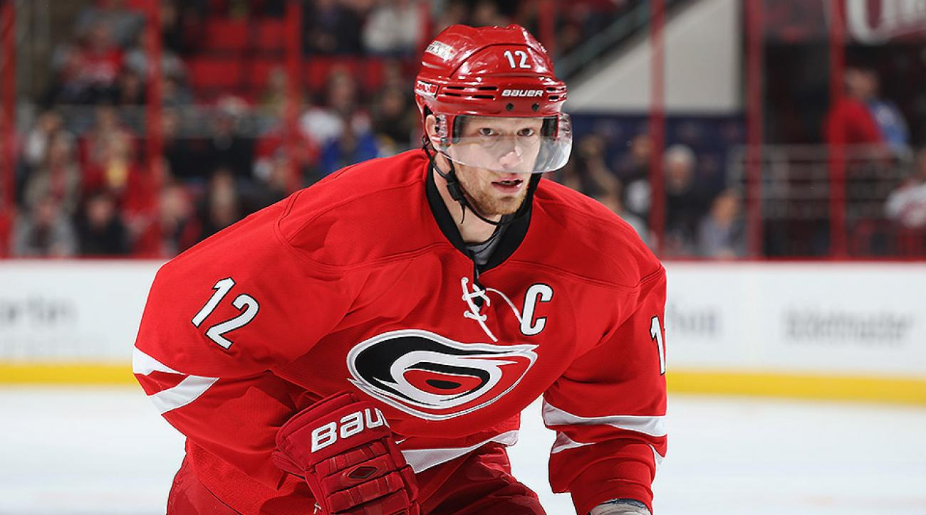 New York Rangers Eric Staal