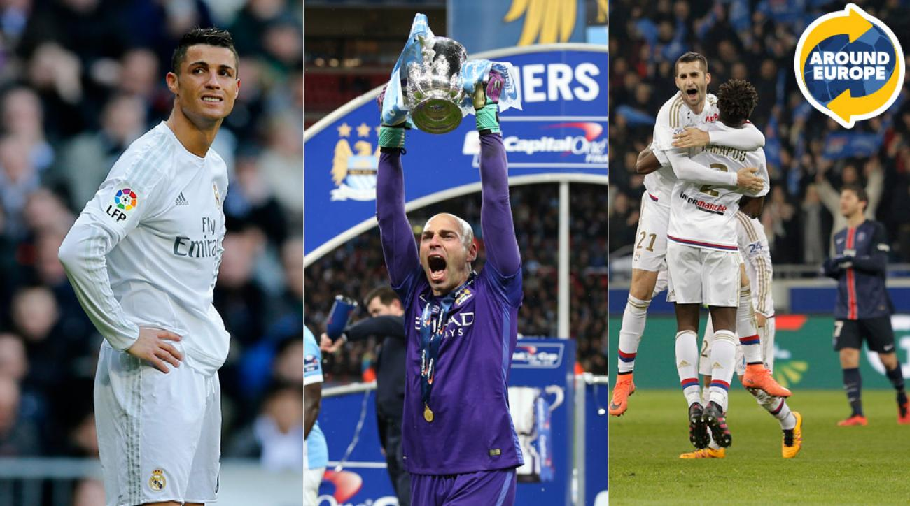 Cristiano Ronaldo, Willy Caballero, Lyon headline this weekend's events around Europe.