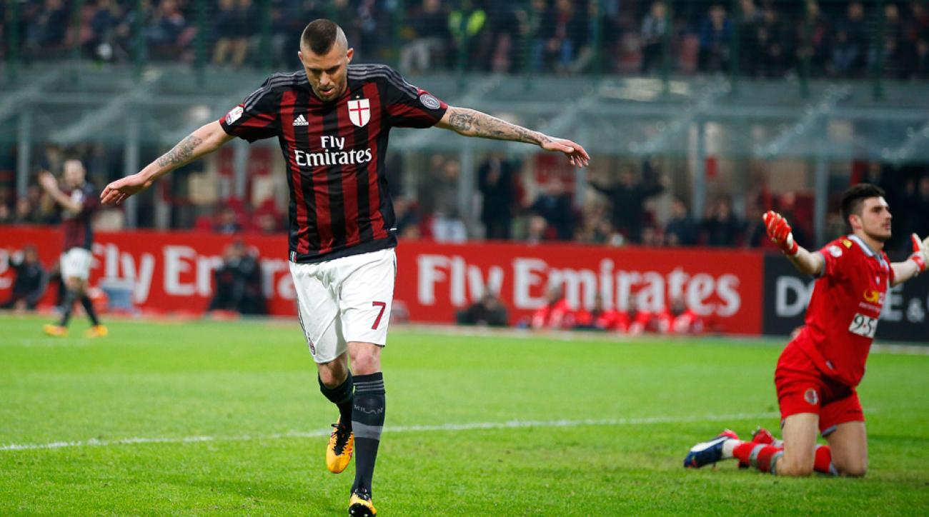 AC Milan routed Alessandria to reach the Coppa Italia final