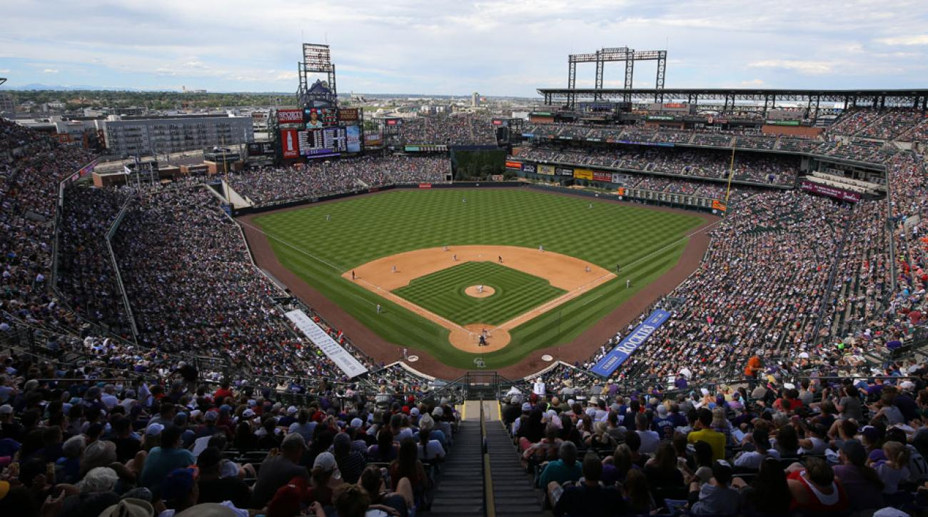 colorado rockies to raise outfield walls at coors field si com