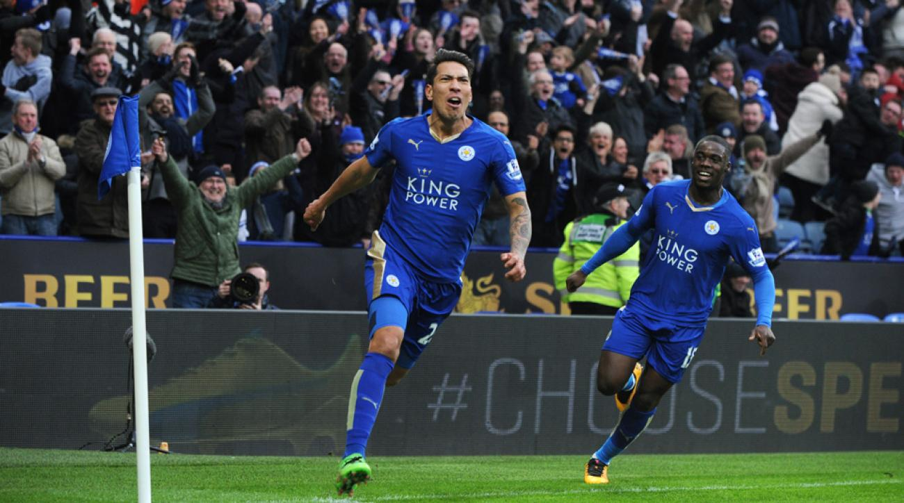 Leicester City continues its improbable title chase against West Brom