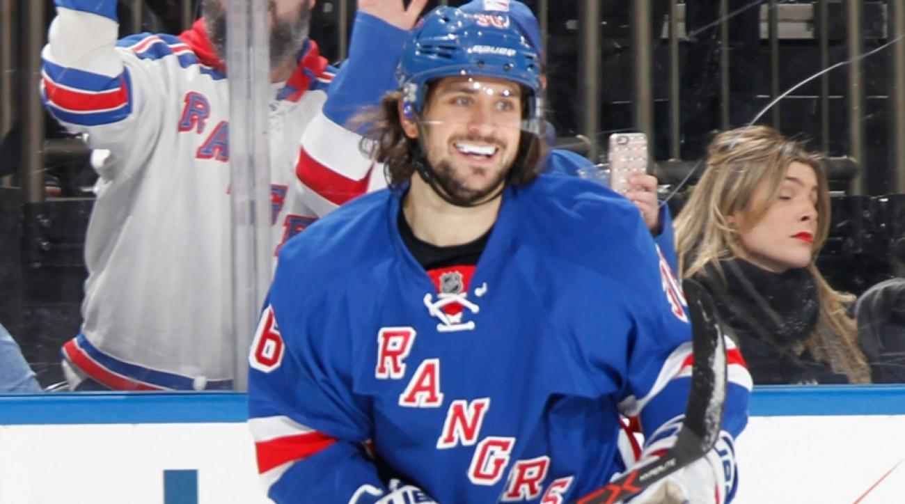 New York Rangers' Mats Zuccarello helped a teenaged fan get a prom date