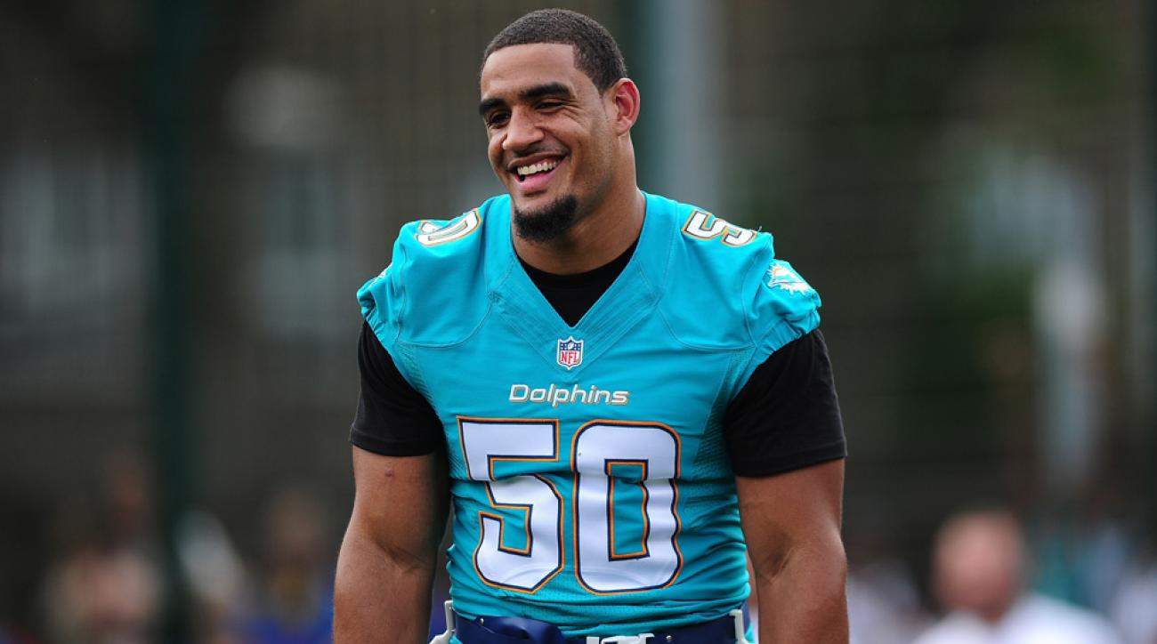 olivier vernon miami dolphins transition tag contract