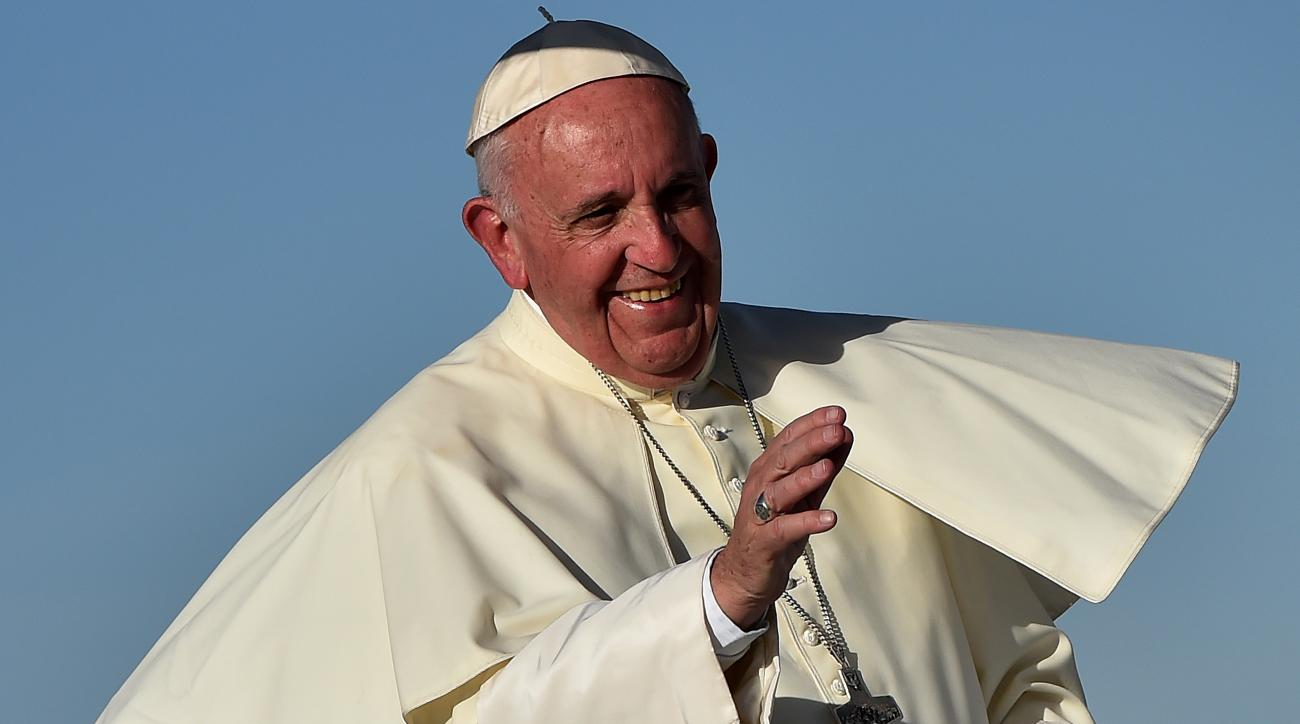 pope francis chicago fire soccer ball