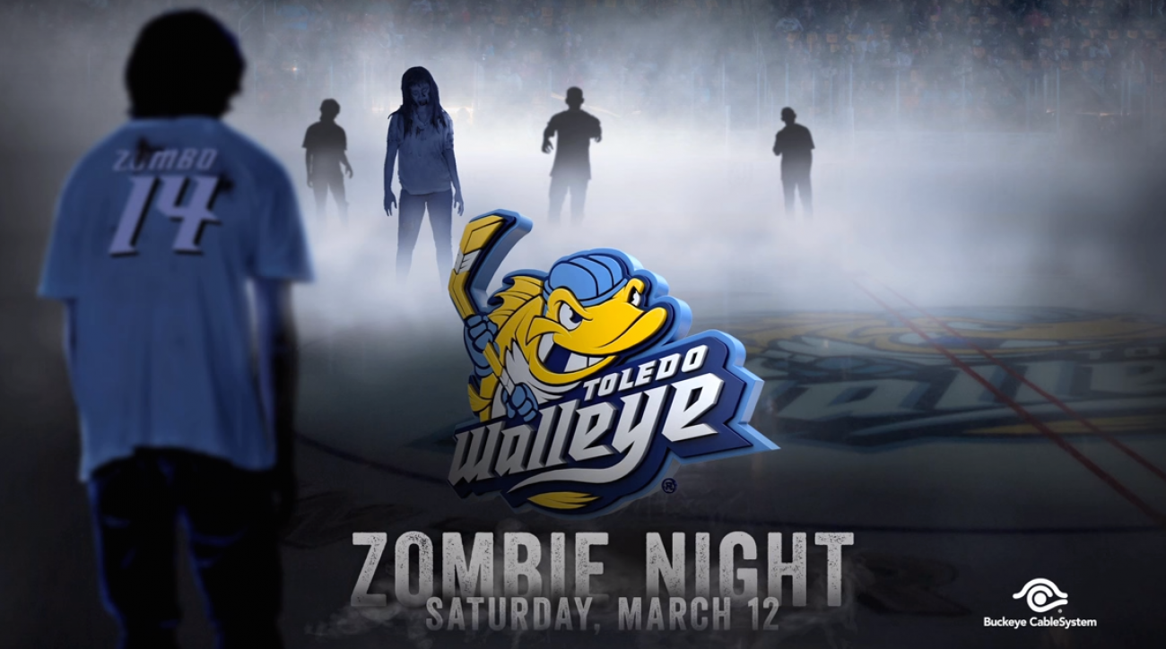 Toledo Walleye Zombie Jerseys Infection Spreads After