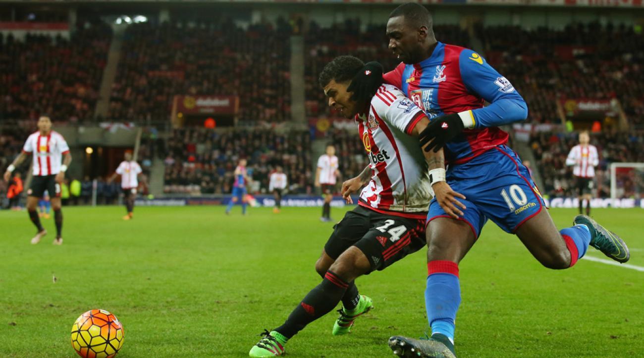 DeAndre Yedlin assisted on Sunderland's equalizer vs. Crystal Palace
