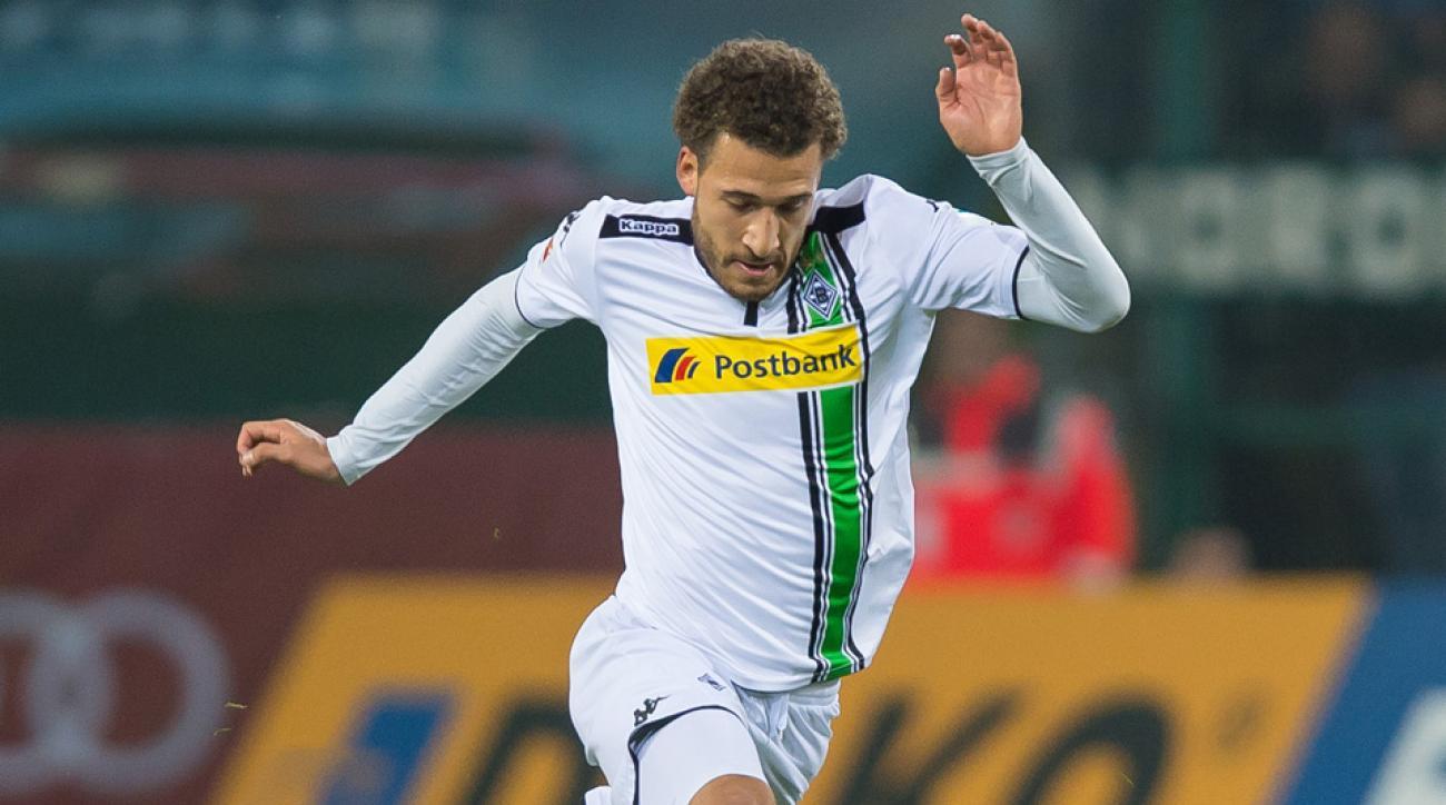 Fabian Johnson assists on a goal for Borussia Monchengladbach