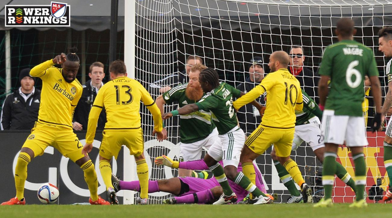 Portland Timbers and Columbus Crew start the season atop the MLS Power Rankings
