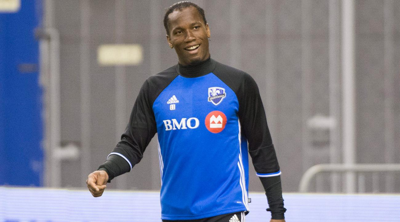 Didier Drogba won't play games on turf to start the Montreal Impact's season