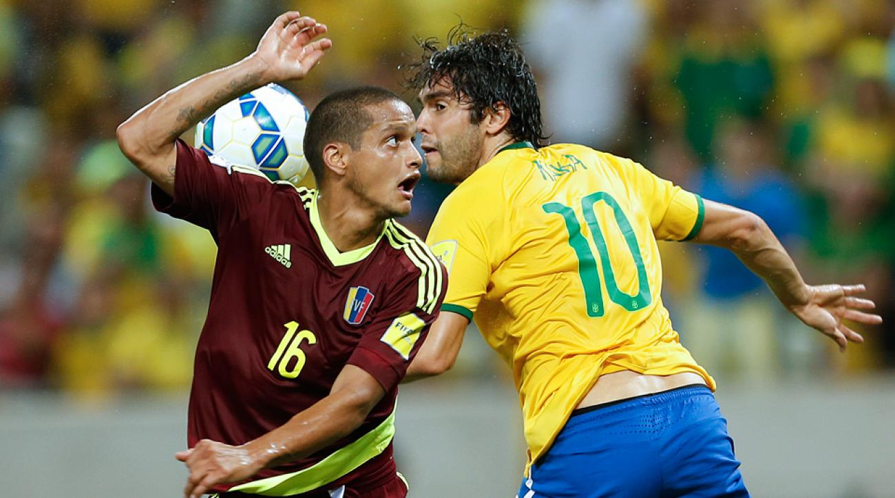 Kaka has been recalled for Brazil's World Cup qualifiers