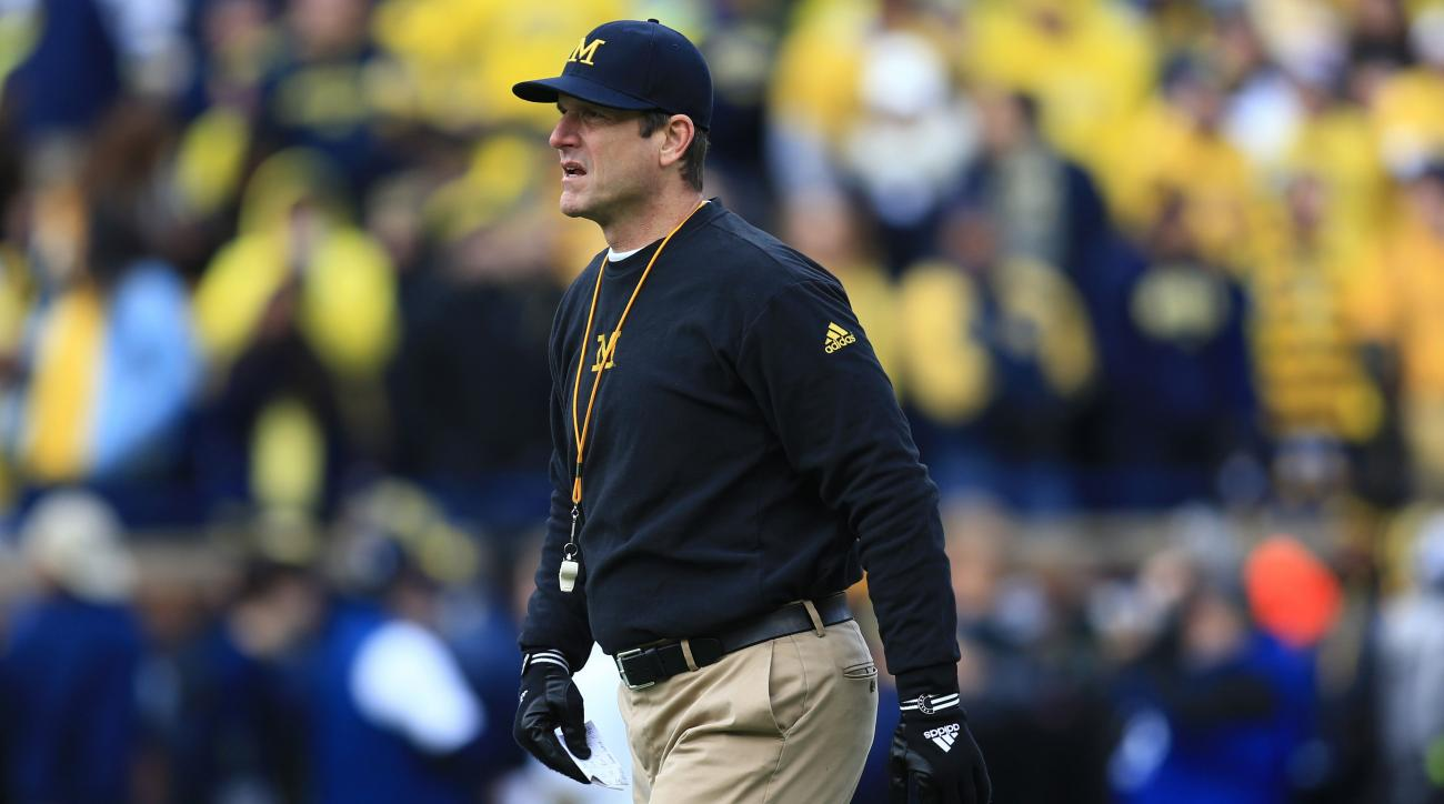 jim harbaugh michigan satellite camps