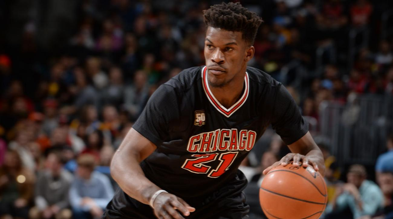 jimmy butler chicago bulls injury return knee rockets