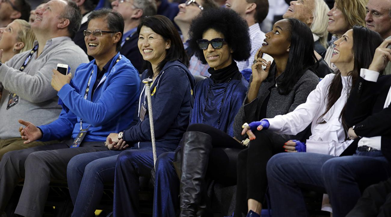 prince golden state warriors thunder game