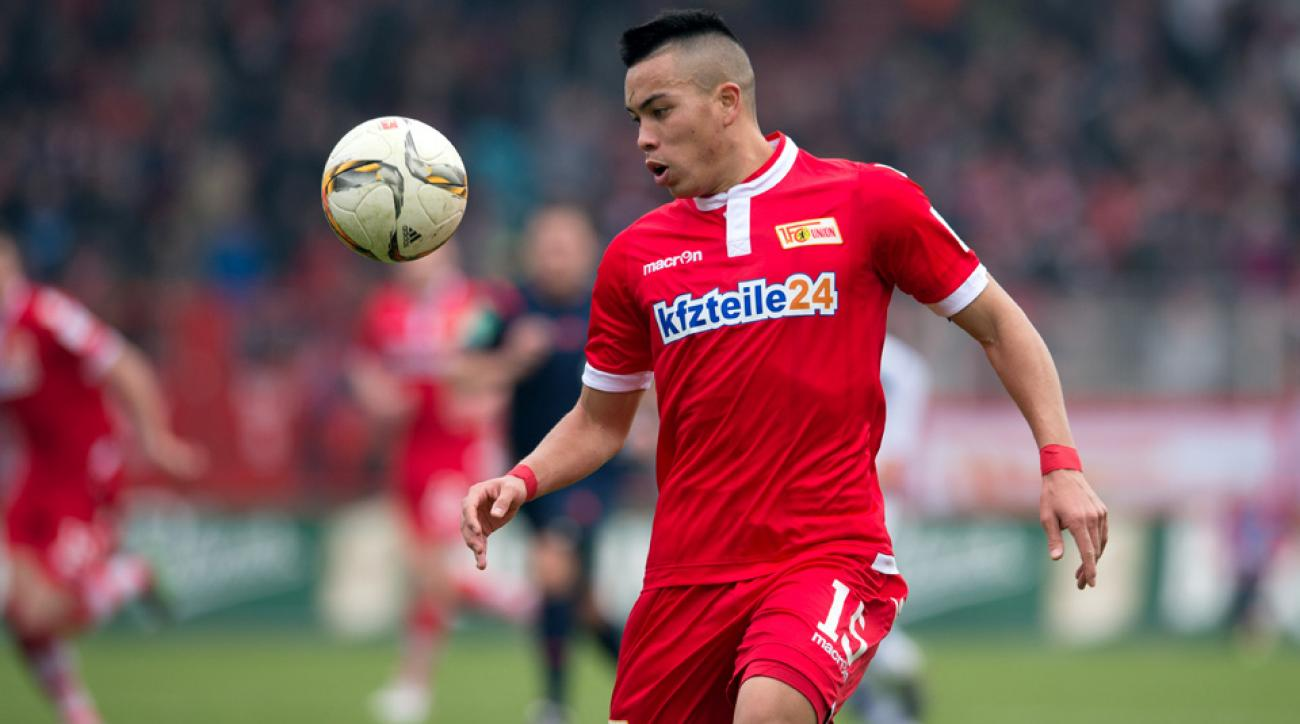 Bobby Wood scored in his fourth straight game for Union Berlin