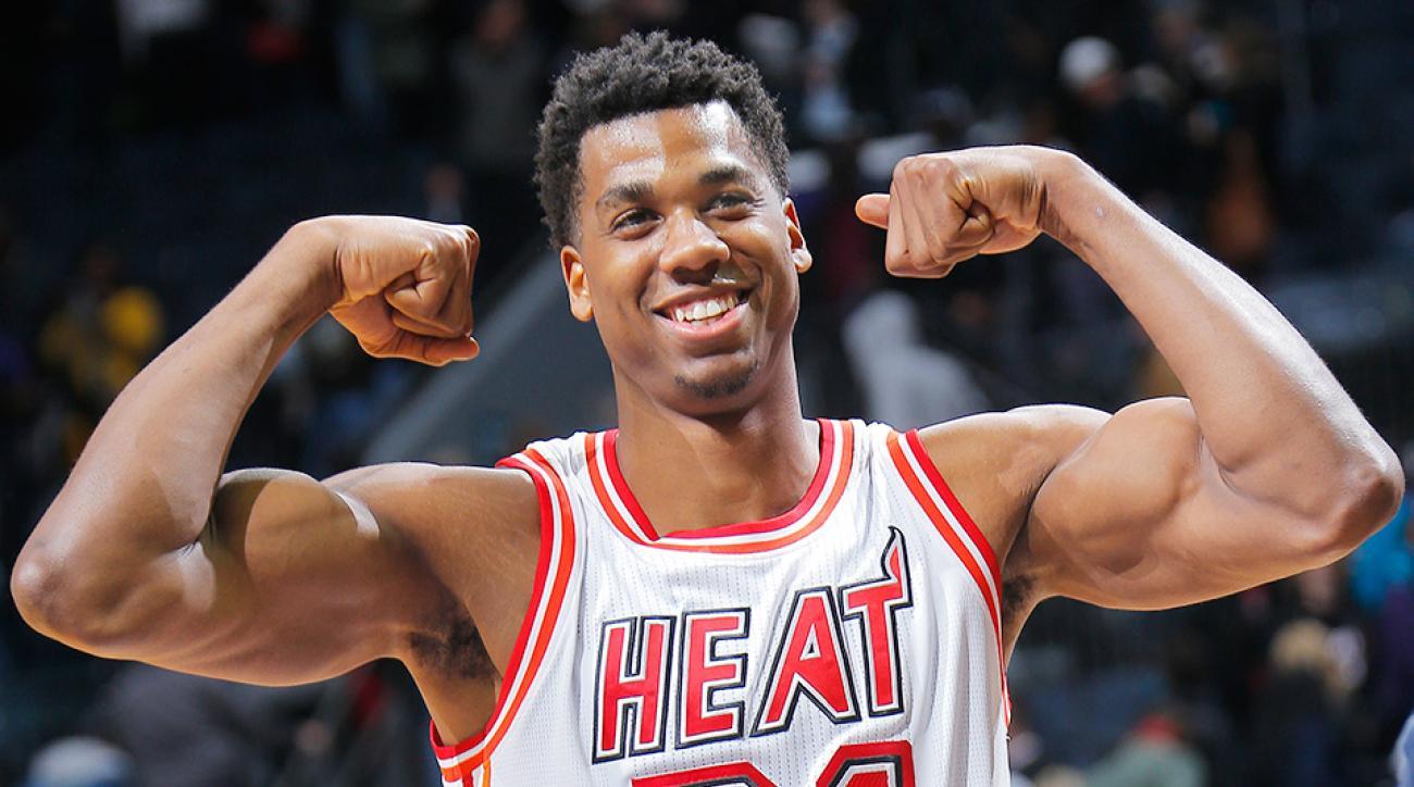 Hassan Whiteside free throws Miami Heat video