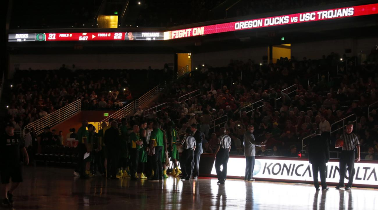 power outage usc oregon