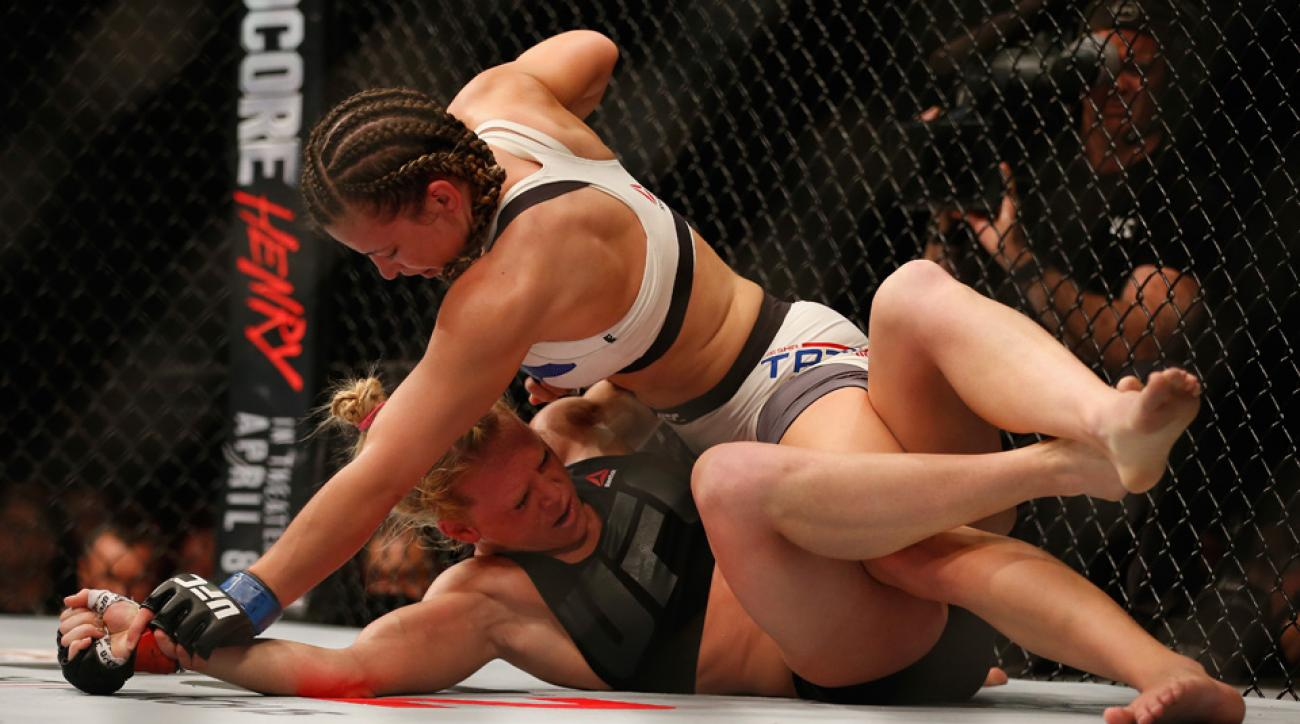 holly holm miesha tate ufc 196