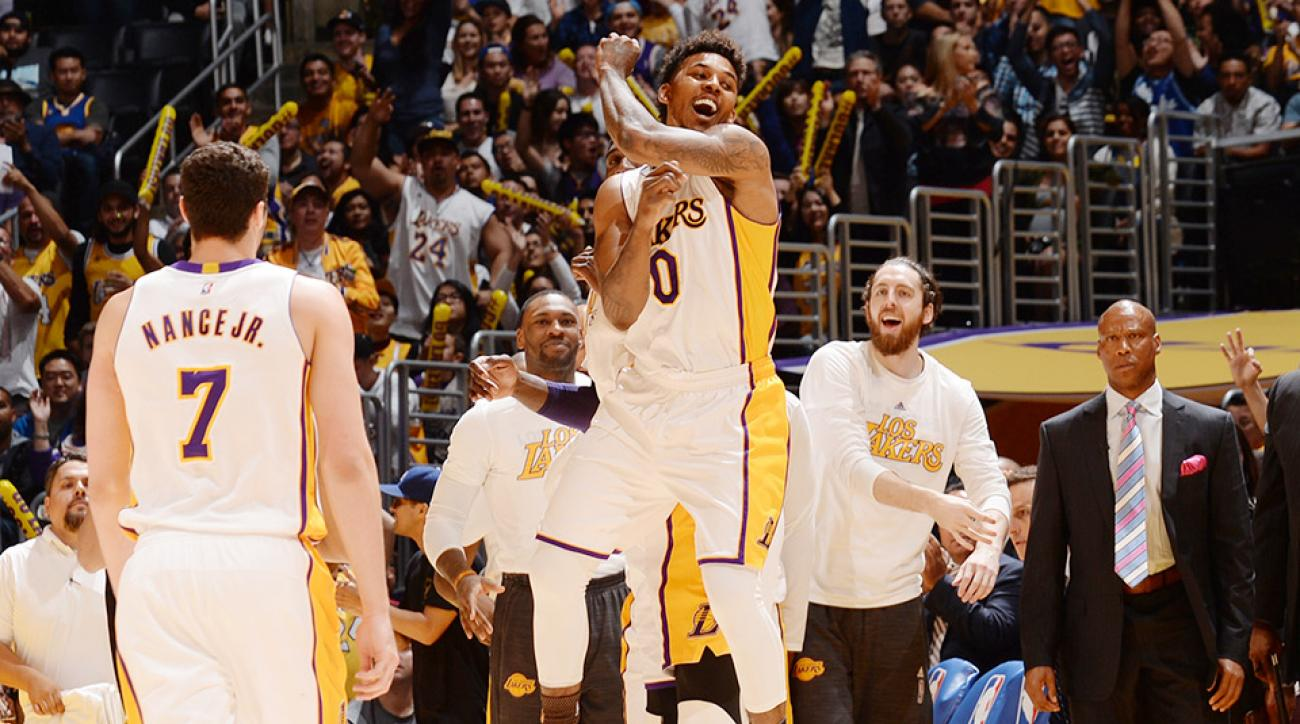 nick-young-kanye-west-los-angeles-lakers-golden-state-warriors