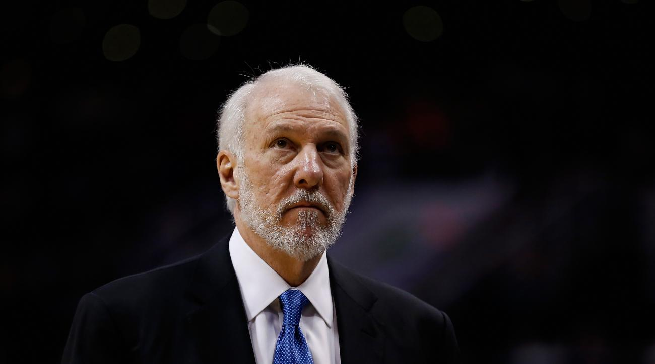gregg popovich spurs miss two games